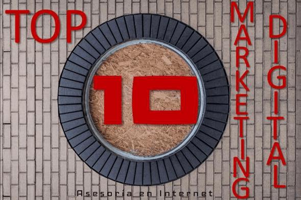 Top 10 del marketing digital