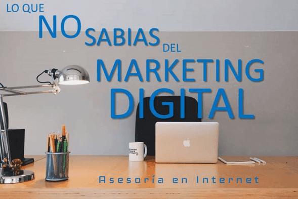 Lo que nadie conoce del marketing digital